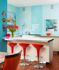 particolari colorati in cucina